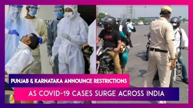 Punjab And Karnataka Announce Restrictions As COVID-19 Cases Surge Across India