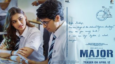 Major: Makers of Sandeep Unnikrishnan's Biopic Unveil the First Glimpse of Saiee Manjrekar From the Film (View Pic)