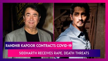 Randhir Kapoor Contracts COVID-19, Moved To ICU; Siddharth's Mobile Number Leaked, Receives Rape, Death Threats