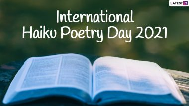 On International Haiku Poetry Day 2021, Twitterati Pen Beautiful Three-Line Poems to Appreciate Poetry