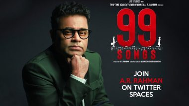 99 Songs: AR Rahman Announces Special Virtual Concert of His Upcoming Musical Movie (Read Deets)