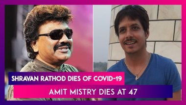 Shravan Rathod Of Music Composer Duo Nadeem-Shravan Dies Of Covid-19, Actor Amit Mistry Dies At 47; Bhumi Pednekar, Dilip Kumar, Sonu Sood On COVID-19