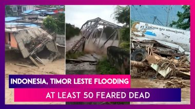 Indonesia, Timor Leste Sees Intense Flooding, Landslides; At Least 50 Feared Dead
