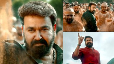 Aaraattu Teaser: Mohanlal Slam-dunks His Enemies in Unnikrishnan B's Masala Entertainer (Watch Video)