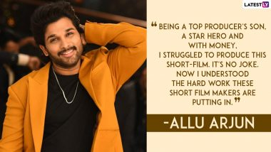 Allu Arjun Birthday Special: 5 Quotes That Show How Assured and Composed This Dashing Superstar Is IRL
