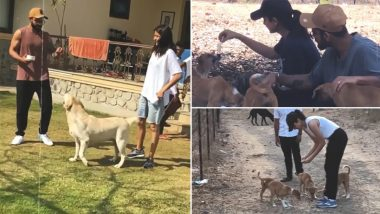 Anushka Sharma and Virat Kohli's Special and Priceless Moments From Last Year Shows Virushka's Immense Love For Dogs - WATCH