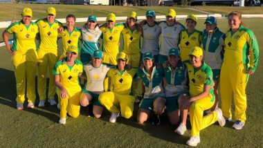 Australia Women Set New Winning Record in ODIs, Break Ricky Ponting-Led Australia's Feat of 21 Consecutive ODI Victories With Six-Wicket Win Over New Zealand Women