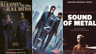 BAFTA Awards 2021 Winners List: Ma Rainey's Black Bottom, Tenet, Sound of Metal Win Big on Opening Night!