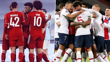 Bayern Munich vs PSG, UCL 2020–21 Quarter-Final Live Streaming Online: Where To Watch UEFA Champions League Match Live Telecast on TV & Free Football Score Updates in Indian Time?