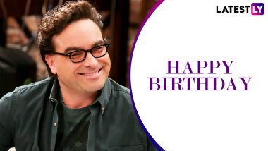 Johnny Galecki Birthday Special: 11 Funniest Leonard Hofstadter Quotes From The Big Bang Theory You Should Revisit (LatestLY Exclusive)