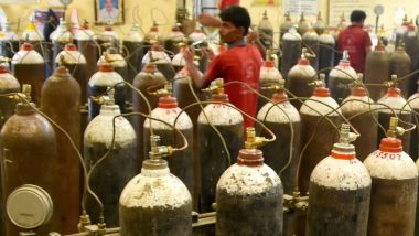 Oxygen Cylinders Black Marketing in Delhi, 2 Arrested