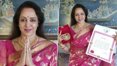 Hema Malini Conferred With 2021 Champions of Change Award for Her Contribution Towards Society