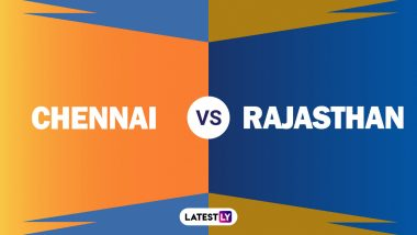 CSK 125/5 in 14 overs I CSK vs RR Live Score Updates of VIVO IPL 2021: Chetan Sakariya Gets His Second Wicket in Suresh Raina