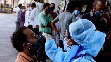 Maharashtra Witnesses Sharp Decline in Daily COVID-19 Cases, Reports 26,616 New Coronavirus Infections, 516 Deaths in Past 24 Hours