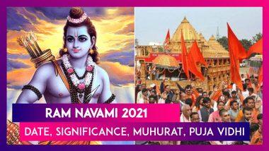 Ram Navami 2021: Date, Significance, Shubh Muhurat, Puja Vidhi, Rituals Of The Festival Celebrating Lord Ram's Birth Anniversary