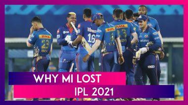 Delhi vs Mumbai IPL 2021: 3 Reasons Why Mumbai Lost