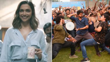 Deepika Padukone Perfects Her Walk On Vijay's Vaathi Coming Song From Master (Watch Video)