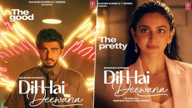 Dil Hai Deewana Posters Out! Arjun Kapoor and Rakul Preet Are On A Good Vs Pretty Battle In The First Look of their Music Video