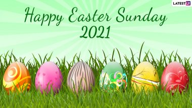 Happy Easter 2021 Good Morning Quotes, Messages & HD Images: Twitter Abuzz with Resurrection Sunday, Telegram Greetings, Signal Photos and Jesus Christ Easter Sunday Pics