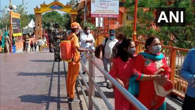 Kumbh Mela 2021 Witnesses Low Footfall on First Day in Haridwar Amid COVID-19 Scare