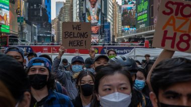 'Stop-Asian-Hate' Rally in US: Over 10,000 Asian-Americans Stage Protest in New York