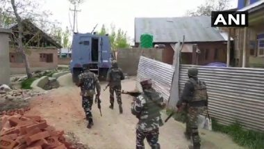 Jammu and Kashmir: 3 Al-Badre Terrorists Killed by Security Forces in Encounter in Hadipora Area of Shopian District