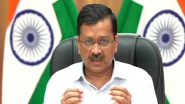 Lockdown in Delhi Extended by One More Week To Curb COVID-19 Spread, Announces Chief Minister Arvind Kejriwal