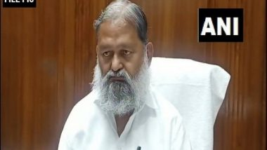 Haryana Health Department To Hold Meeting With Protesting Farmers on COVID-19 Vaccination, Says Anil Vij