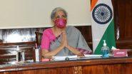 Swiggy, Zomato to Pay GST on Restaurant Services Supplied Through Them, Says FM Nirmala Sitharaman