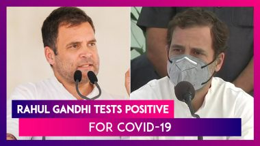 Rahul Gandhi Tests Positive For Coronavirus, PM Narendra Modi & Others Tweet For His Speedy Recovery