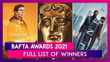 BAFTA Awards 2021: Nomadland Scores Big, No Wins For The White Tiger, Complete List Of Winners