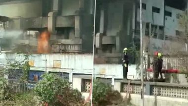 Palghar: Fire Breaks Out at Bajaj Healthcare Unit in Tarapur MIDC, Firefighting Operation Underway