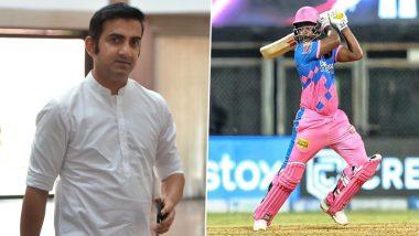 IPL 2021: Gautam Gambhir Slams Sanju Samson's String of Low Scores After Stunning Century