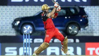 Glenn Maxwell Scores First IPL Fifty in 5 Years, Smashes 41-Ball 59 During SRH vs RCB IPL 2021 Match