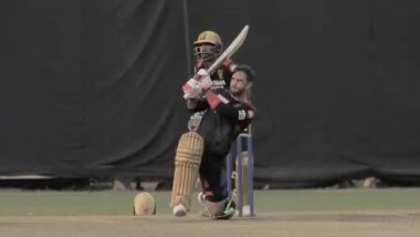 IPL 2021: Glenn Maxwell Takes Yuzvendra Chahal to Cleaners in His First Training Session for RCB