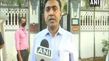 Goa 'Positively Thinking' About Imposing Lockdown Amid Rising COVID-19 Cases, Decision Likely in 2-3 Days, Says CM Pramod Sawant
