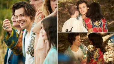 Harry Styles' Gucci Photoshoot Pics Go Viral on Twitter! Fans Cannot Stop Drooling over the Hottie (View Pics)