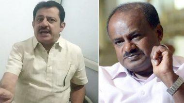 'Dark Will Be Called Dark': Karnataka Congress MLA Zameer Ahmed Khan Defends Racist Comments on HD Kumaraswamy