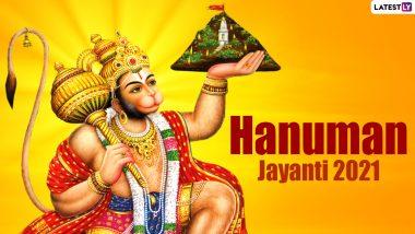 Hanuman Jayanti 2021 Date, Chaitra Purnima Tithi and Puja Muhurat: Know Significance of the Hindu Religious Festival That Celebrates the Birth Anniversary of Lord Hanuman