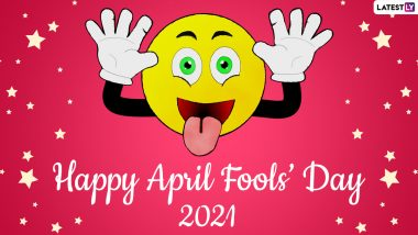 April Fools' Day 2021 Funny Wishes & Jokes: Send April 1 HD Images, Greetings, Hilarious Telegram Pics & Signal Messages to Celebrate the Fun Day
