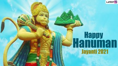 Hanuman Jayanti 2021 Greetings, Wishes and Messages: Netizens Share WhatsApp Pics, Facebook Status, HD Images and Quotes to Mark the Birth of Bajrang Bali