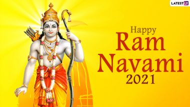 Ram Navami 2021 Wishes and Messages on Twitter: Netizens Share 'Happy Rama Navami' Greetings With Images of Lord Ram to Mark the End of Chaitra Navratri