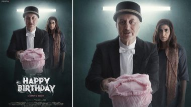 Happy Birthday: Anupam Kher Unveils the Poster of His Upcoming Thriller Short Film
