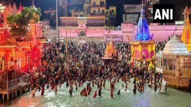 Baisakhi Snan 2021: 6 Lakh Devotees Arrived in Haridwar for Shahi Snan, Says Kumbh Mela IG Sanjay Gunjyal