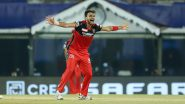 Harshal Patel Becomes Third RCB Player to Scalp a Hat-Trick, Achieves the Feat During RCB vs MI, IPL 2021 (Watch Video)
