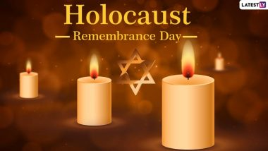 Holocaust Remembrance Day (Yom HaShoah) 2021: Netizens Pay Tribute, Share Candle Images & Quotes on Holocaust Day