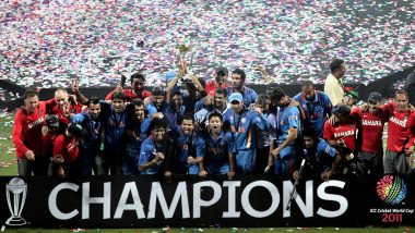 Yuvraj Singh, Virender Sehwag, Harbhajan Singh & Others Remember India's 2011 Cricket World Cup Win on 10th Anniversary