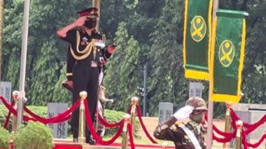 Indian Army Chief MM Naravane Pays Tribute to Fallen Soldiers of Bangladesh Liberation War