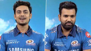 Rohit Sharma, Ishan Kishan Slam Towering Sixes in the Nets Ahead of MI vs RCB, IPL 2021 (Watch Video)
