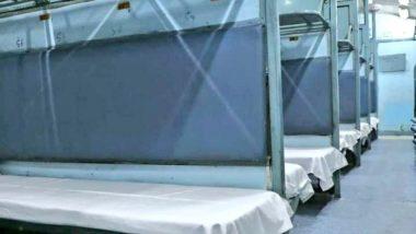 Northern Railway Provides 75 Isolation Coaches at Shakurbasti, Anand Vihar Stations on Requests of Delhi Govt